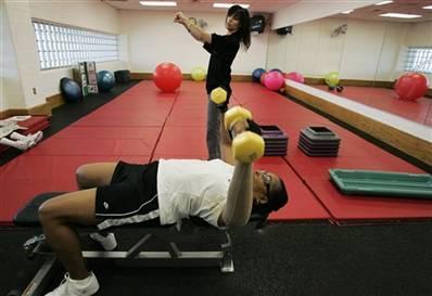 a flip on fitness
