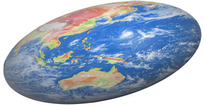 thesis of the world is flat