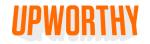 Upworthy logo Darryle Pollack's journey