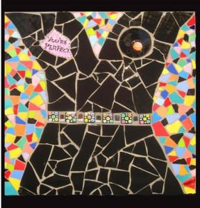 """Boobala"" Mosaic Art Card by Darryle Pollack"